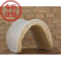 Factory Direct equestrian spurs Mongolian pure wool Saddle Khan drawer Retro Mongolian traditional horse saddle with riding supplies