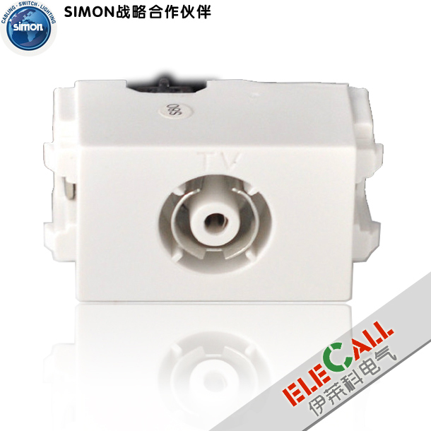 Simon switch 32 series 1/3 bit TV terminal socket function TV (1/3)