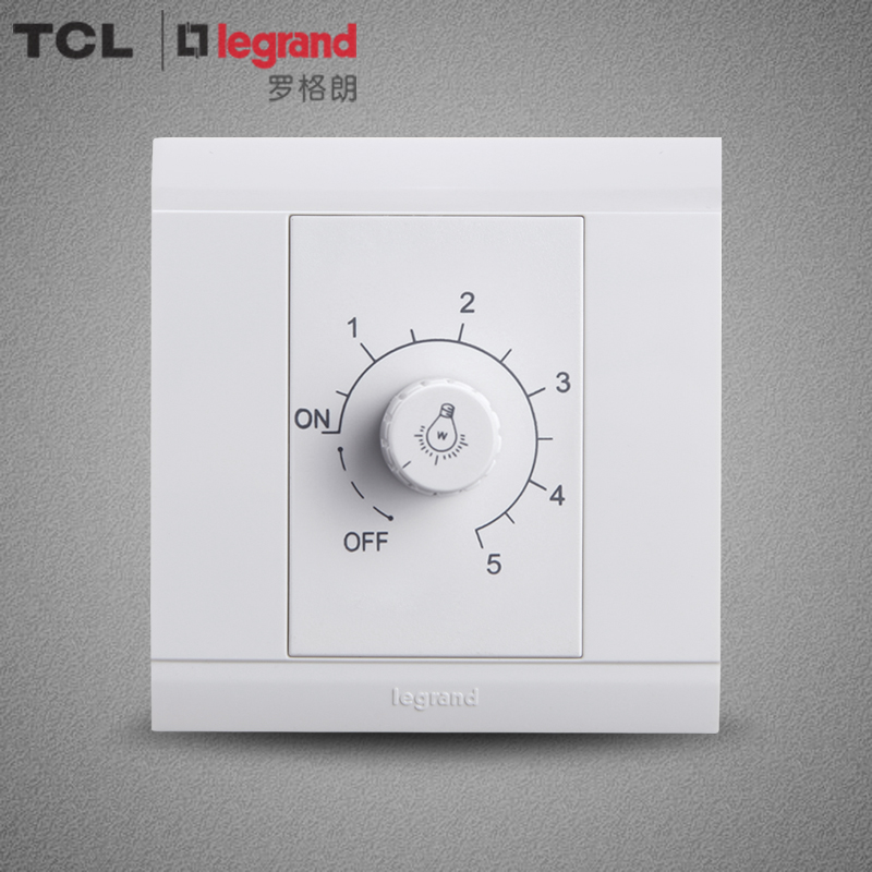 TCL switch socket Legrand switch panel wall switch socket Meilunshan Yabai 400W dimmer switch