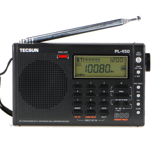 Desheng Radio PL-450 Portable Multi-band Digital Demodulation Stereo Radio
