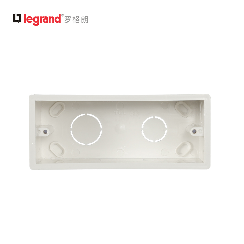 TCL Switch and Socket Panel 118 Series A120 Series Universal Transverse Three Boxes Sale