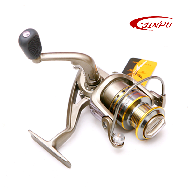 Jinpu6 shaft spinning wheel fishing reel full metal long shot round fishing reel fishing reel