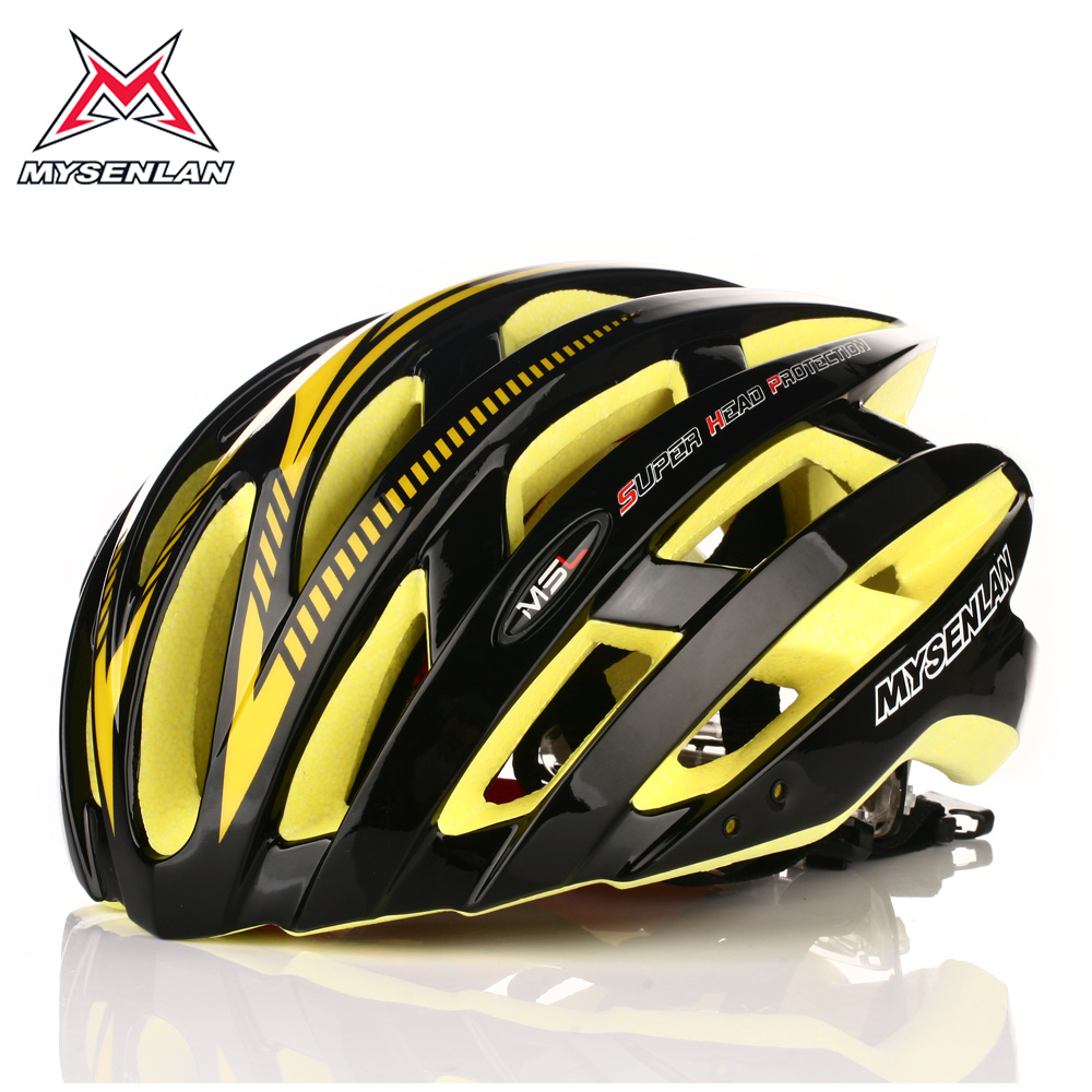 [The goods stop production and no stock]Bicycle riding helmet Merida giant mountain bike integrated molding helmet ultra light equipment men and women