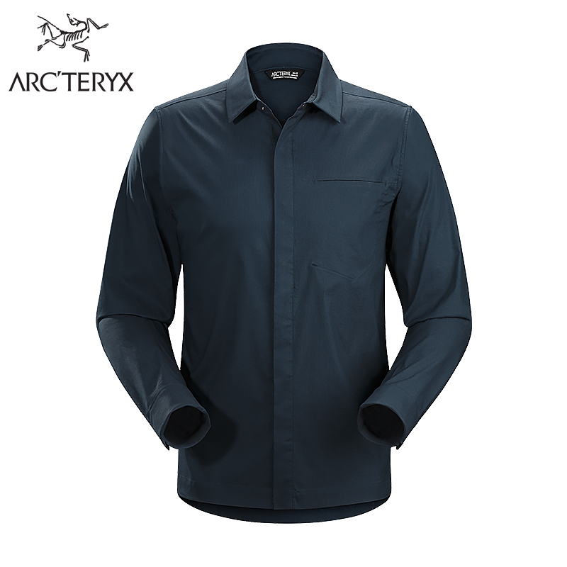 [18 spring and summer new] Arcteryx archaeopteryx men's casual long-sleeved shirt A2B LS Shirt