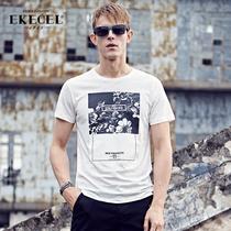 Ekecel summer fashion trend printed t t shirt