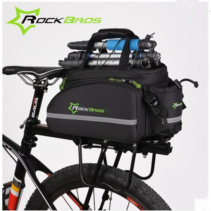 ROCKBROS Bicycle Bags Shelf Packs Mountain Bikes Bags Tail Bags Saddle Bags Bicycle Accessories