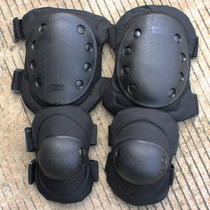 Outdoor Mountaineering protective Gear Army fan tactical Knee guard elbow Special Forces CS field equipment riding protective gear four piece set