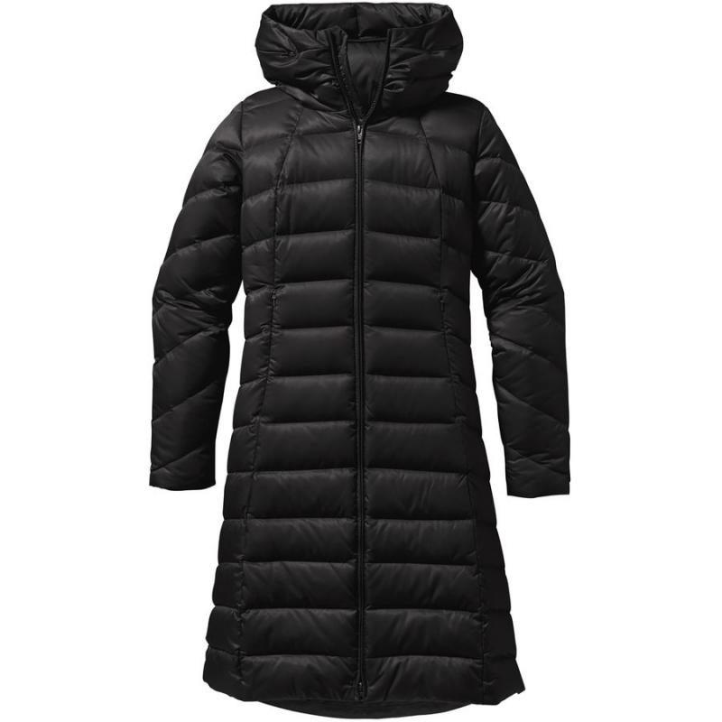 American direct mail PATAGONIA B5092T winter long section horizontal line down jacket women