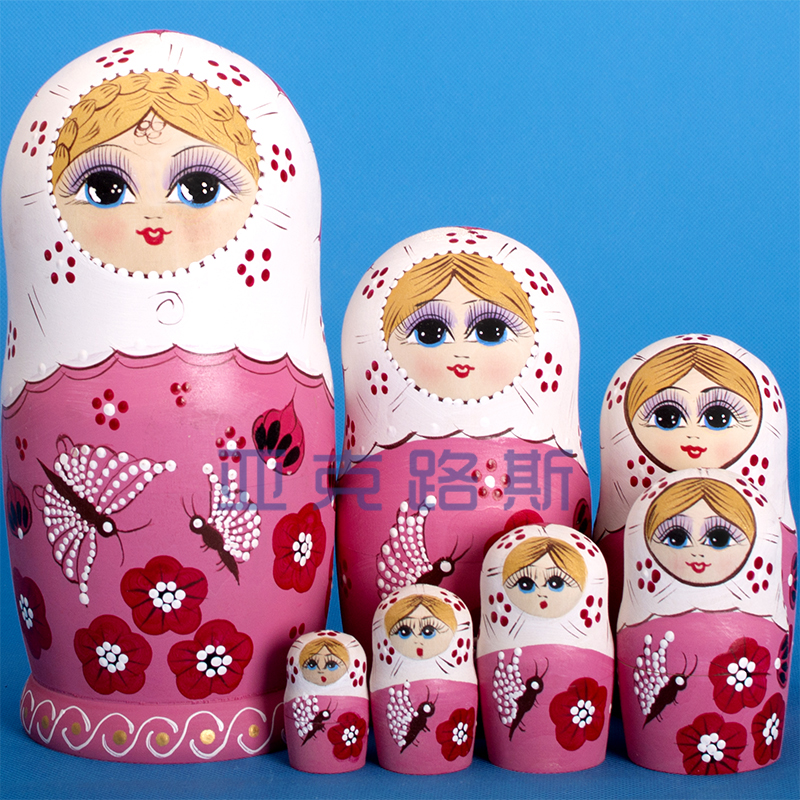 (YAKELUS) Yakelus authentic Alder genuine original gift Russian matryoshka 7703