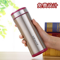 Gift Stainless Steel cup Custom advertising cup insulation cups custom logo Water Cup Teacup Festival Souvenir Cup printing characters