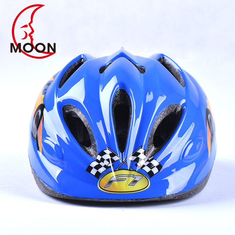Moon riding helmet for children bicycle helmet skating helmet for mountain bike riding equipment