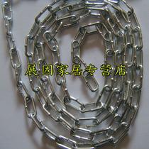 Galvanized chain chain iron chain lighting chain iron chain 2mm per meter unit price]