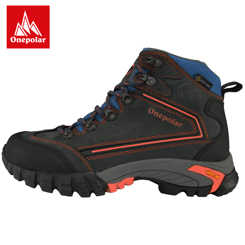 Onepolar polar high climbing shoes couple models outdoor shoes V bottom waterproof non-slip wear resistant shock hiking shoes
