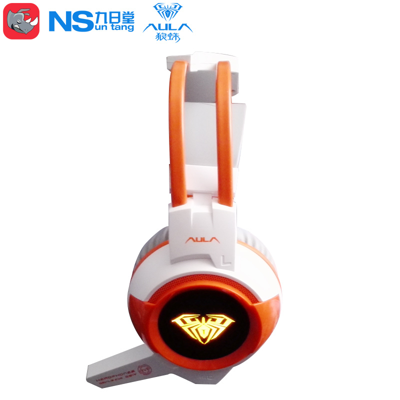 Tarantula konjac head-mounted subwoofer headset headset anti-violence computer game Internet cafes sound good sound quality