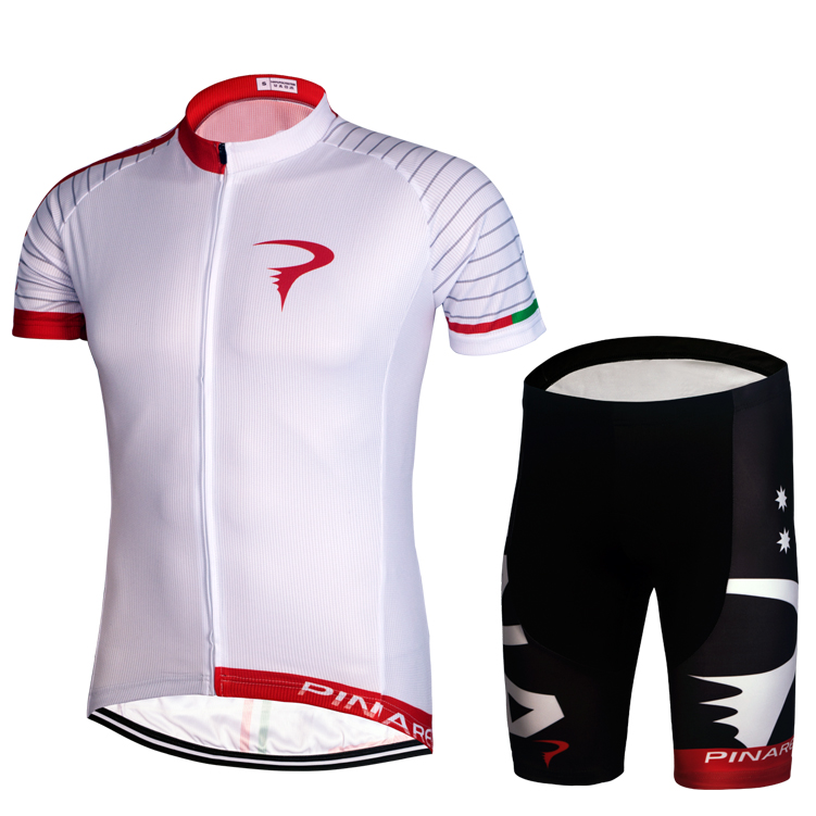 Special package mail 15 Red Hook white cycling suit short sleeve suit ring France motorcade version Bicycle Shirt breathable sweat