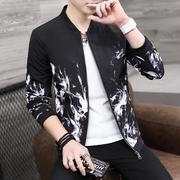 2017 new spring men's jacket Korean casual student trend spring coat boys summer baseball clothes thin
