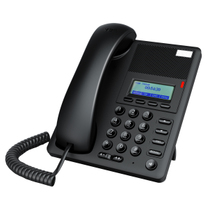 Enterprise Call E302 IP telephone network telephone SIP telephone three-party call can be equipped with headphones