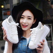 2017 new all-match Korean white shoes spring female students shoes casual shoes sports shoes shoes soled shoes