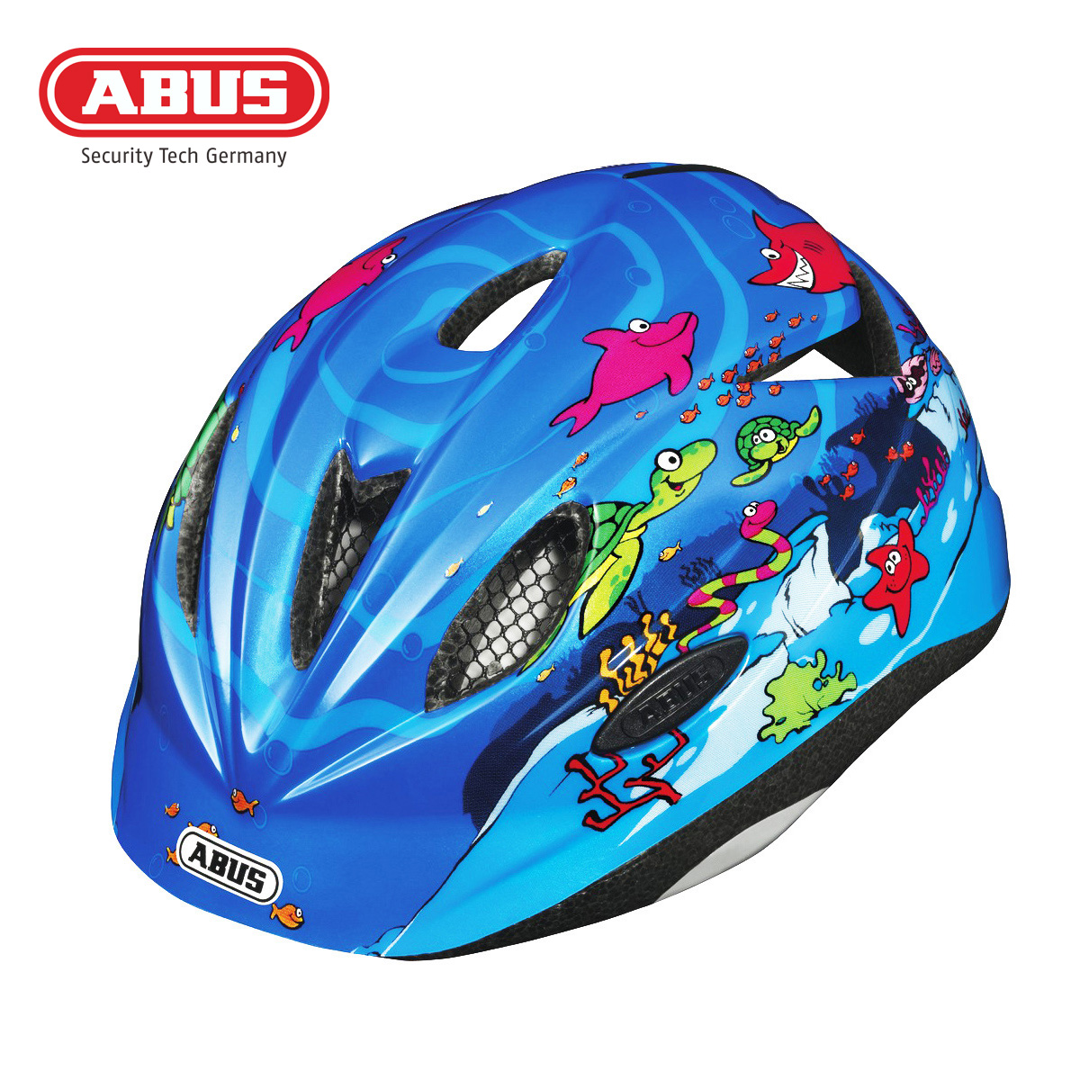 [The goods stop production and no stock]German ABUS Riding Helmet Outdoor Sports Roller skating Mountain Bike Protective Gear Lightweight Children's Helmet