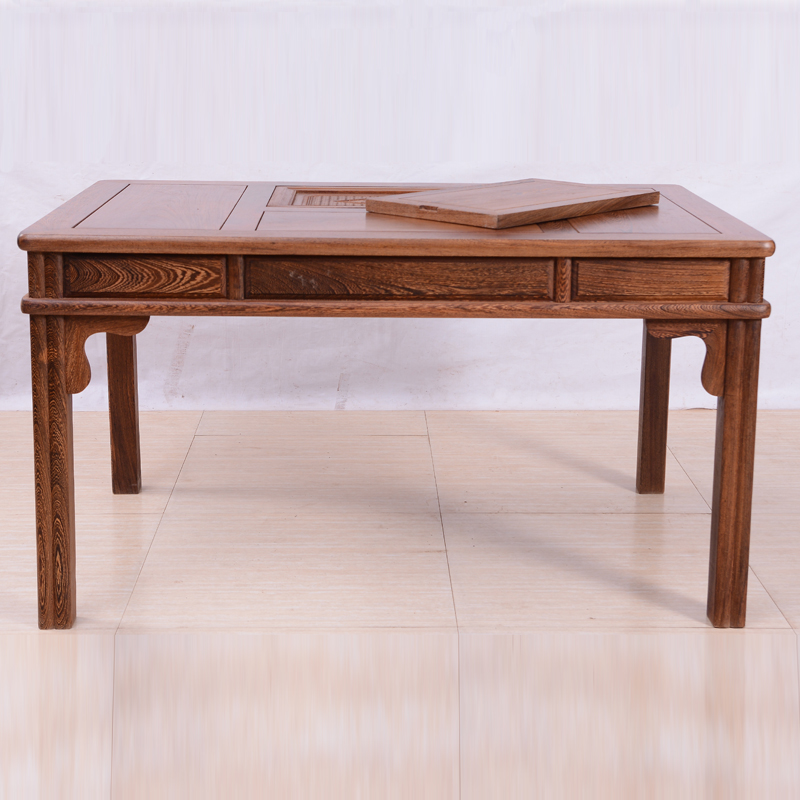 Chicken wing wood tea table Ming and Qing classical tea table redwood tea table Chinese tea table solid wood antique tea table small tea table