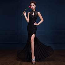 Feast fish tail Sexy lace slim dress up