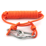 Snorkeling lifesaving rope rope buckle the safety belt of buoyant floating rope outdoor 6mm outdoor clothes