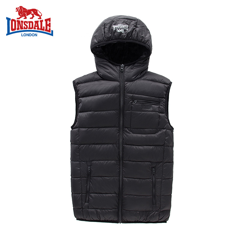 Dragon and lion DELL men's down vest vest light weight leisure sports men's down coat 132304500