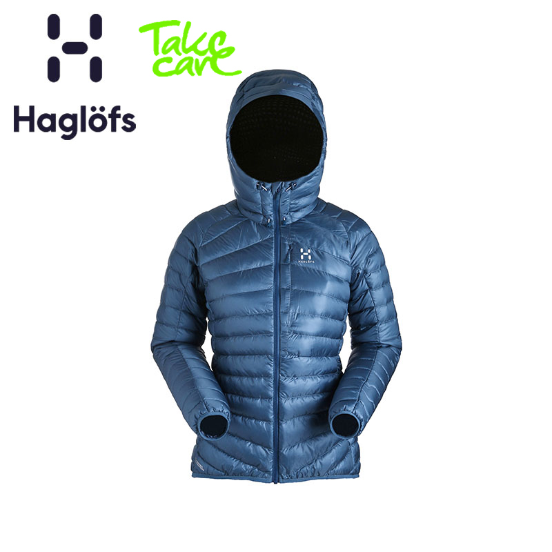 Haglofs Match Stick Outdoor Sports Women's Wind-proof, Water-proof, Lightweight and Warm Down Suit 603066 European Edition