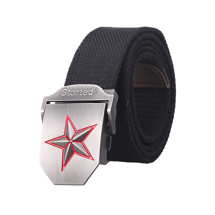 Outdoor equipment tactical belt male nylon special forces army fan canvas outer belt armed army camouflage belt