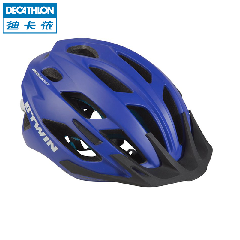Di Canon Mountain Bike Helmet Riding Helmet Road Bike Men and Women Equipped with 500 H BTWIN