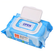 Tmall supermarket good boy baby wipes moist baby wipes the ocean 80 pieces with a cover U3202