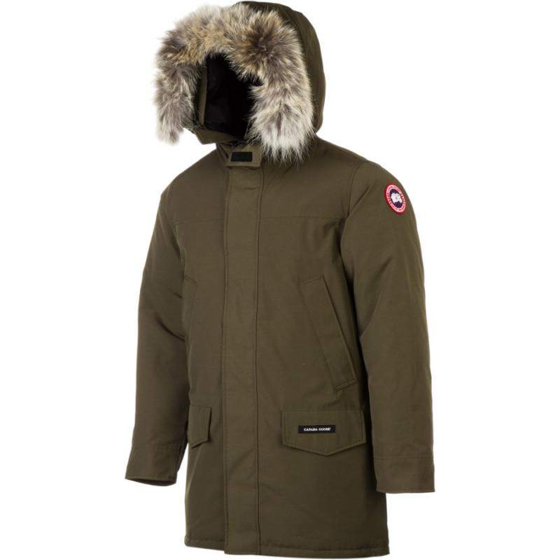 [The goods stop production and no stock]Canada Goose Canada Goose Long Down Jacket Men Winter Hooded American Direct Mail B2035T