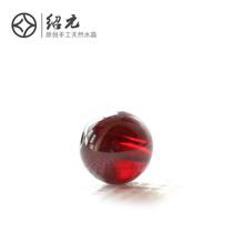 Shao Yuan 6a7a collection grade wine red garnet scatter beads semi-finished garnet bracelet hand string female