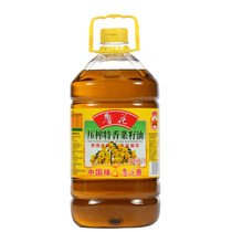 (CAT supermarket) luhua non-GM smell 5L physical press of edible oil from rapeseed oil food