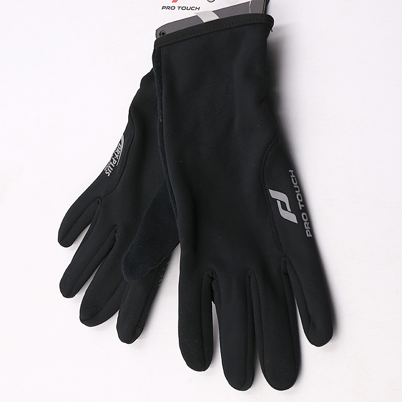 [The goods stop production and no stock]Lucky leaf spring and autumn new full finger pattern non-slip wear gloves drive riding protective gloves Puta
