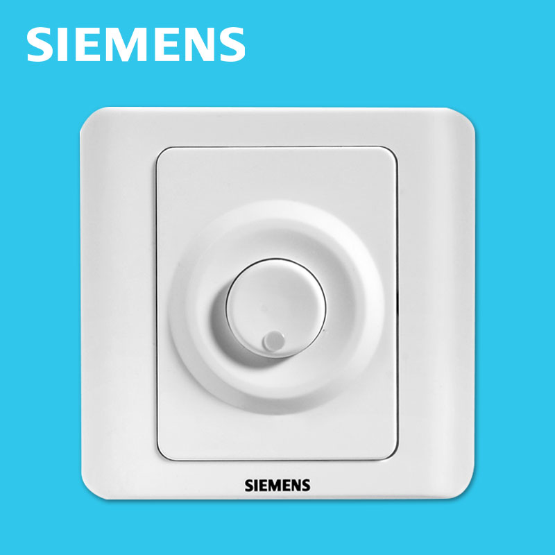 [The goods stop production and no stock]Siemens switch socket elegant white touch delay smart wall switch light touch panel time control official