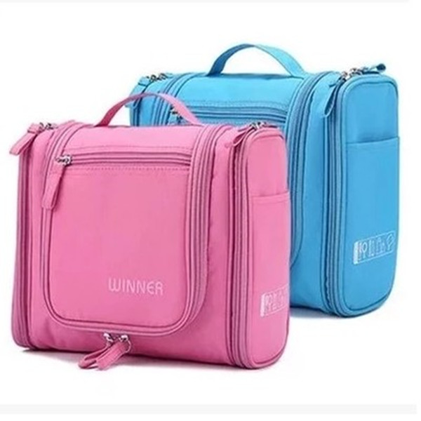 Korea Waterproof Large Capacity Travel Cosmetic Bag Washing Bag Women Portable Articles Multifunctional Receiving Bag Handbag
