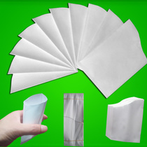 Small paper bag Wholesale Small paper cup 100ml envelope Type paper cup drinking disposable folding paper cup