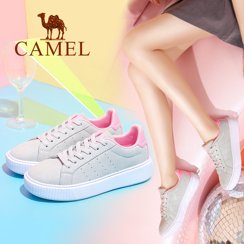 Camel women's shoes autumn new casual writing Korean fashion wild single shoes shallow mouth low shoes breathable shoes women