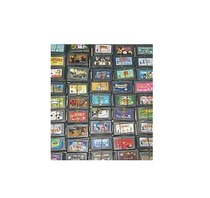 GBA game cassette GBA card GBA SP GBM NDS NDSL game cassette super collection cassette