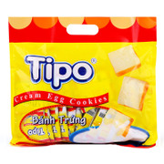 Tmall supermarket Vietnam imported Tipo milk bread dry cookies 300g office snack spree