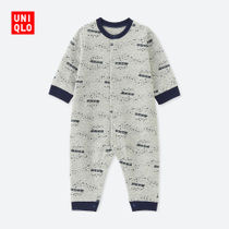 Infant newborn line connected load (long sleeve) 402111 UNIQLO UNIQLO