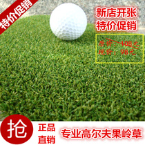 Artificial lawn 16mm professional golf green grass artificial simulation fake turf golf green lawn Genuine
