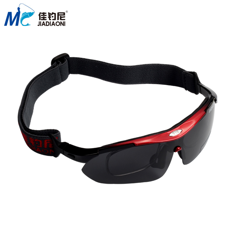 Jia fishing fishing glasses to see drifting special increase clear mirror fishing clear polarized glasses fishing sunscreen driving glasses