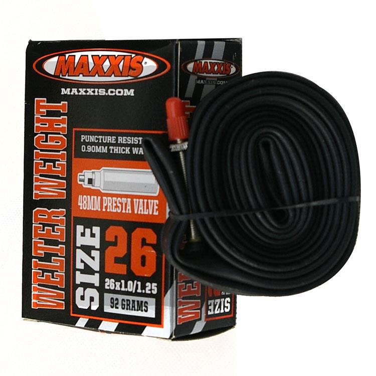 Maxxis MAXXIS 26X1.0-1.25FV Lawrence Mountain Bike Inner Tube 48MM Ultralight 87g