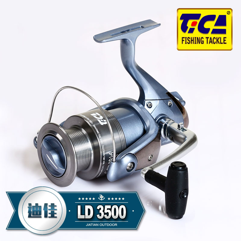 Dijia fishing wheel genuine LD3500 metal anti-corrosion 10 shaft front discharge fish wheel spinning wheel