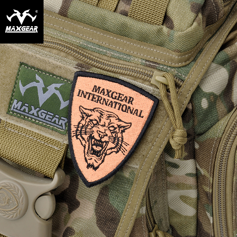 Ma Gai first tiger head magic stickers outdoor army fan diy shoulder arm badge tactical backpack clothing personalized stickers