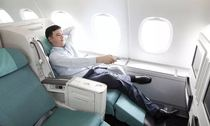 Korean Air business class Beijing fly Fiji Nadi One way