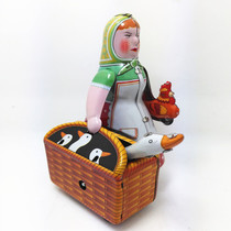 MS501 Iron Farmer Woman Robot 80 After Nostalgic Collection Edition Toy Iron Robot Toy