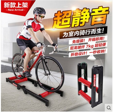 DEUTER Taiwan's New Nylon Fiberglass Mute Cycling Training Platform Free Installation Quick Folding